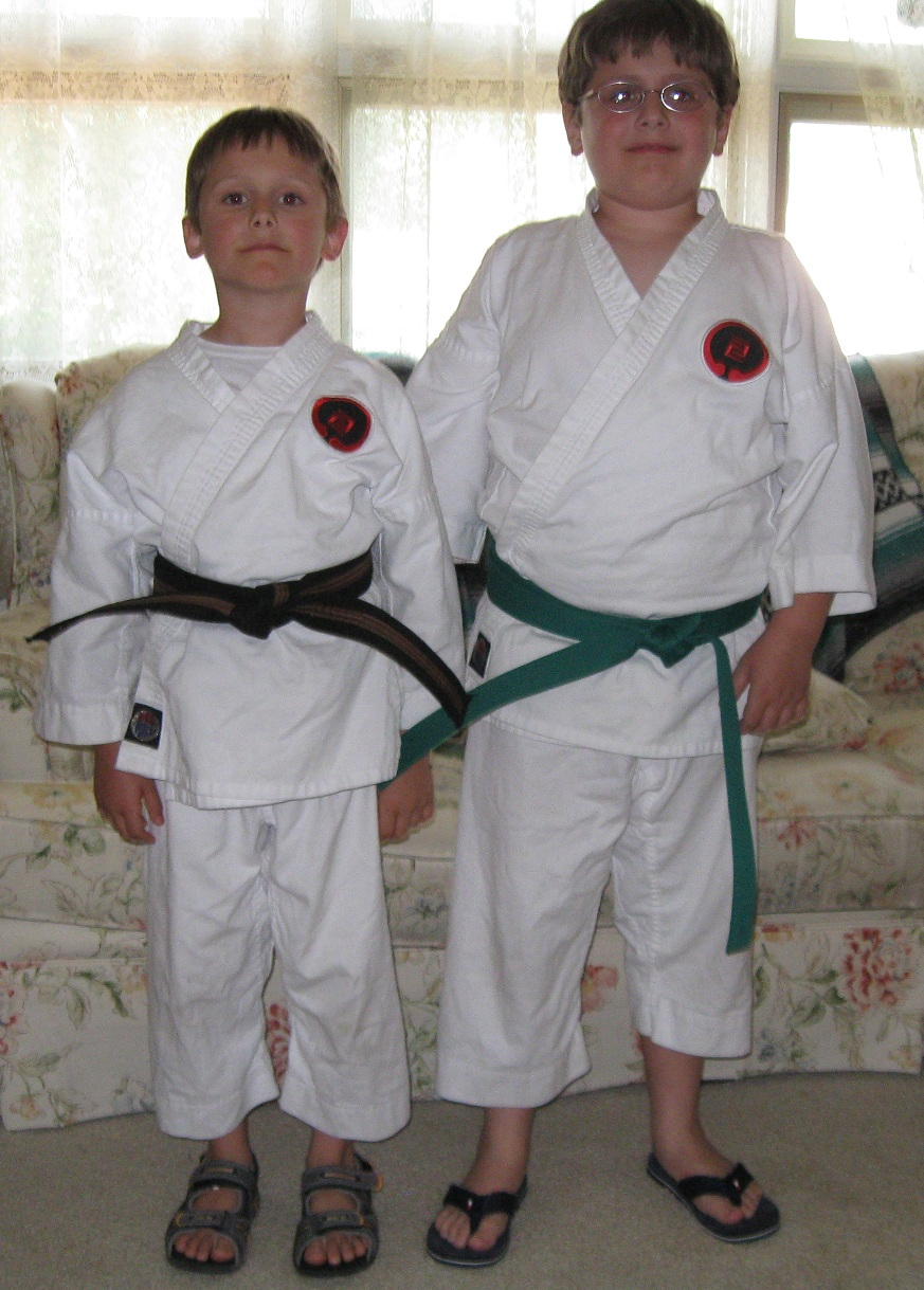 My karate kids in 2010